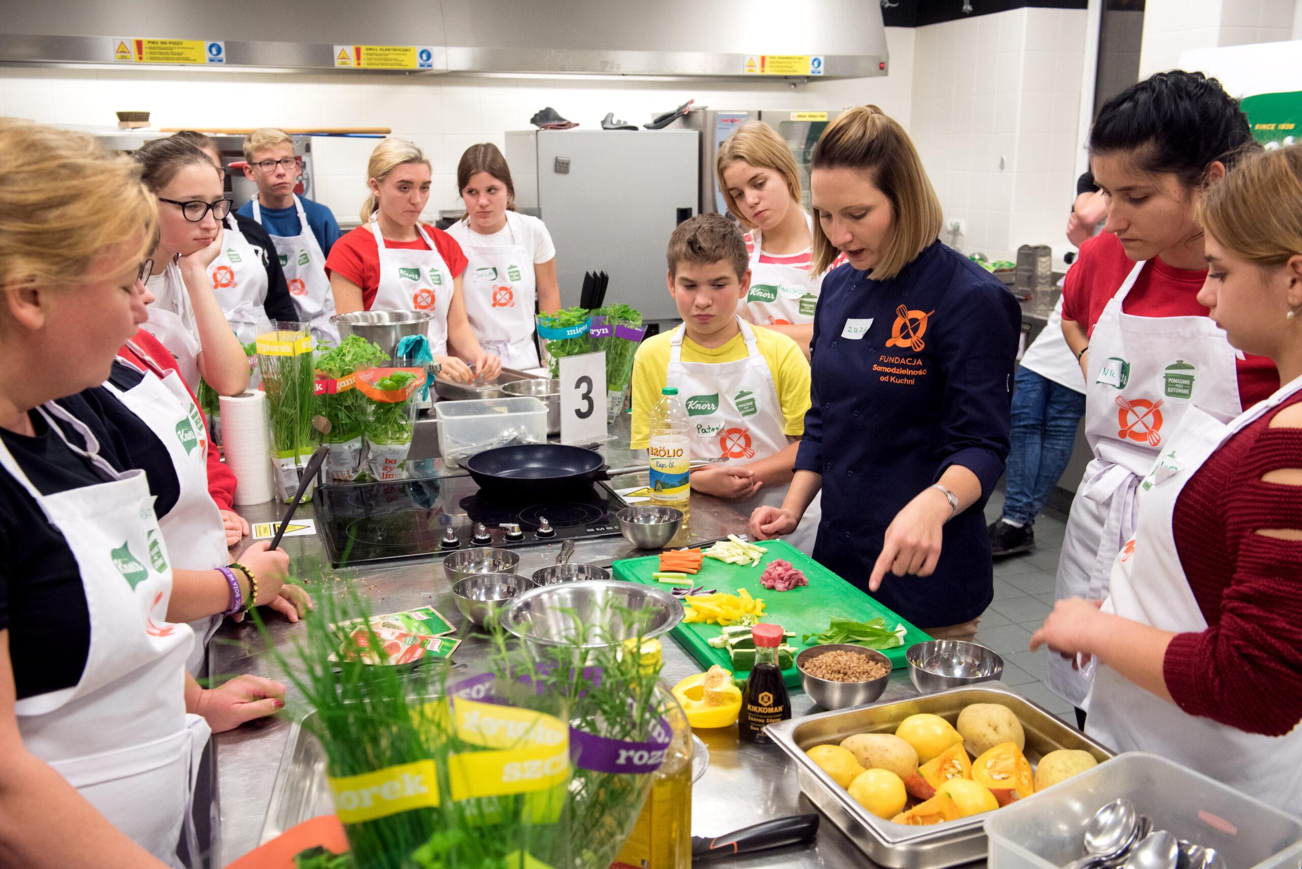 Warsztaty gotowanie młodzież instrukcja