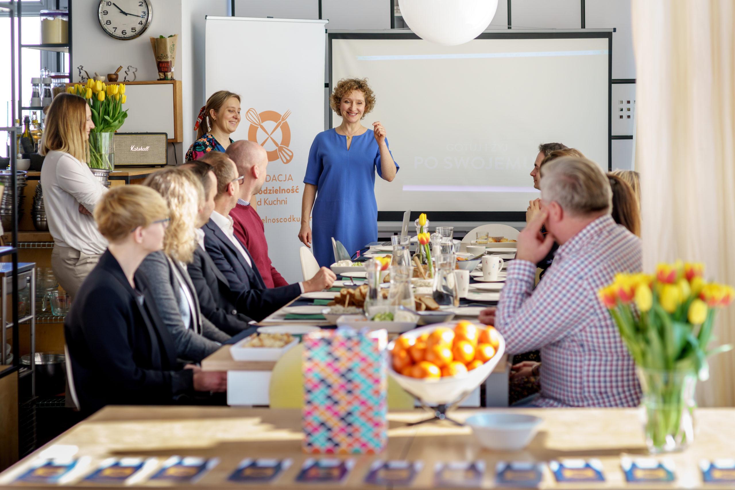 spotkanie fundacja prezentacja