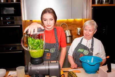 Warsztaty gotowanie kuchnia mikser